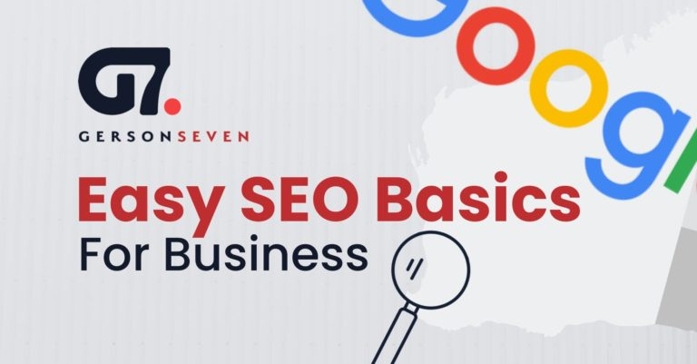 Easy SEO Basics For Business